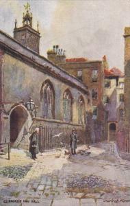 AS: Charles E. Flower, Clifford's Inn Hall, London, England, UK, 1900-1910s