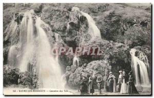 Old Postcard Baume Les Messieurs Cascades Des Tuffs