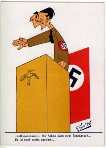Hitler, Voltsgenossen ! artist signed Smits
