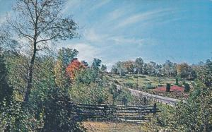 Fossil Hill on Highway 68, Manitoulin Island, Ontario, Canada, 50-60s