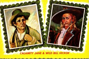 South Dakota Deadwood Calamity Jane and Will Bill Hickok