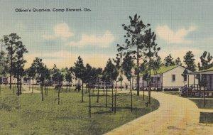 CAMP STEWART, Georgia, 1930-1940's; Officer's Quarters