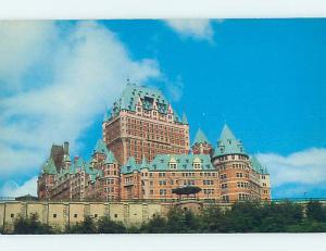 Pre-1980 TOWN VIEW SCENE Quebec City QC p9677