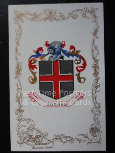 c1906 - DURHAM - Heraldic Coat of Arms
