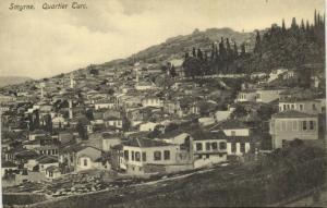 turkey, SMYRNE SMYRNA, Quartier Turc, Turkish District (1920s) Sarantopoulos