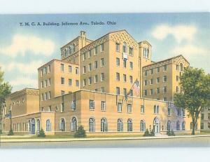 Linen YMCA BUILDING Toledo Ohio OH G1949