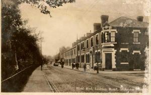 UK - England, Stoke-on-Trent. West End, London Road  *RPPC