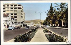 ecuador, QUITO, Avenida 10 de Agosto (1950s) Bromo RPPC