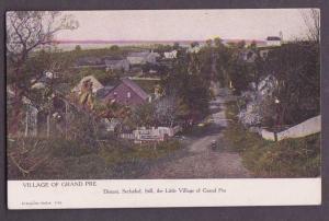 View Of The Village Of Grand Pre, Nova Scotia - Unused