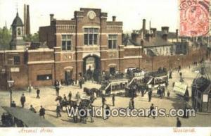 United Kingdom, UK, England, Great Britain Arsenal Gates Woolwich Woolwich Ar...