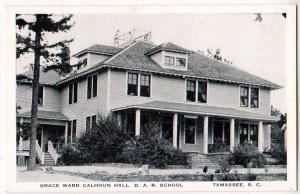 Grace Ward Calhoun Hall, D.A.R. School, Tamassee SC