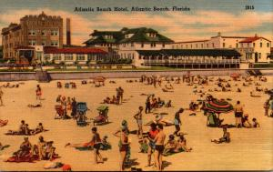 Florida Atlantic Beach The Atlantic Beach Hotel 1955