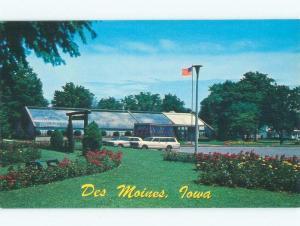 Unused Pre-1980 PARK SCENE Des Moines Iowa IA c7531