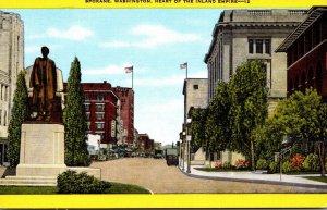 Washington Spokane Main Street