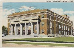 Kansas Salina Salina Memorial Hall