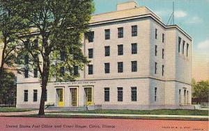 United States Post Office and Court House, Cairo, Illinois, 30-40s