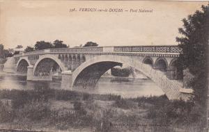 VERDUN, Meuse, France, 1900-1910's; Pont National