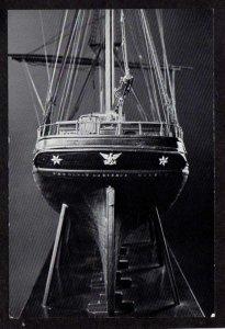 ME Ship Model Thomas Bacon Sullivan Maine Maritime Museum Bath Maine Postcard