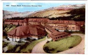 TAMMEN 4303 Canyon Hotel, Yellowstone National Park