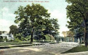 Lowell Memorial Park Cambridge MA Unused