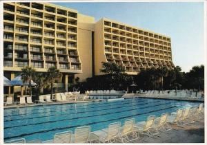 South Carolina Hilton Island The Hyatt Hotel 1985
