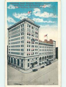 W-Border AMERICAN BANK BUILDING Manchester New Hampshire NH p0574