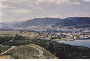 View from the Lookout , PENTICTON , B.C. , Canada , 40-60s