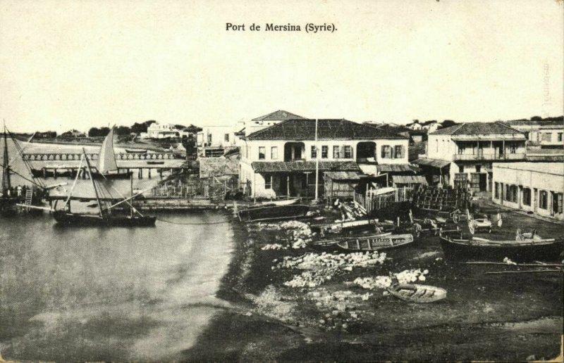 turkey, MERSIN MERSINA, Port, Harbour Scene (1910s) Tarazi Postcard