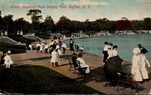 New York Buffalo Humboldt Park Wading Pool 1911