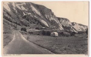 Kent; Folkestone, The Warren PPC By Photochrom, Unposted, c 1930's, Note Caravan