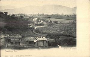 Trapiche de Cana - Saludo de Caracas c1900 UDB Postcard - Venezuela
