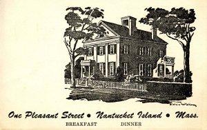 MA - Nantucket Island. One Pleasant Street