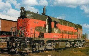 Albion Pennsylvania~Bessemer & Lake Erie Railroad Alco RSD-15 #886 1971