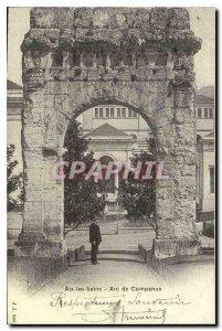 COPY Aix les Bains Arc of Campanus