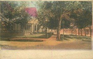 1909 Easton Maryland Hand Colored Residence Adams Robson Postcard 20-5540