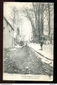 4796 - CAMBLIGNEUL France [62] Nord 1910s La Rue d'Estree-Cauchy