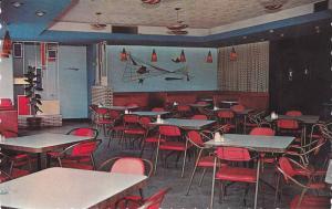 Interior View of Restaurant Central Bar-B-Q, St Germain, Drummond, Quebec, Ca...