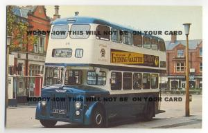 tm121 - Lytham St Annes Corporation Bus No 64 - postcard