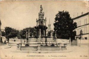 CPA CLERMONT-FERRAND la Fontaine d'Amboise (460093)