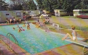 Mississippi Jackson Johnie Cleveland's Trailer Town Swimming Pool 1969
