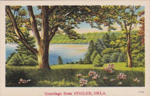 Oklahoma Greetings From Stigler