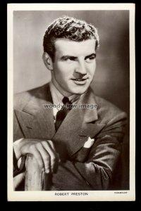 b1639 - Film Actor - Robert Preston - Picturegoer No. 1287 - postcard