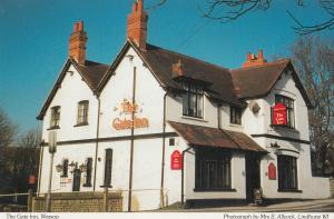 The Gate Inn Warsop Pub Nottingham Postcard