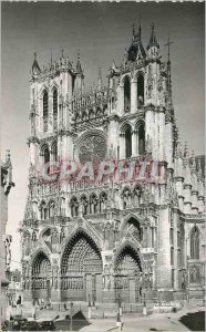 Modern Postcard Amiens (Somme) The Cathedral Overview