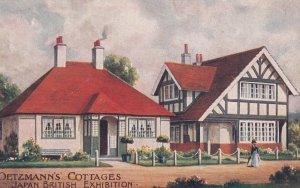 Japanese-British Exhibition , Oetzmann's Cottages , LONDON , England , 1900-10s