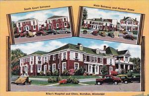South Court Entrance Main Entrance And Nurses Home Rileys Hospital And Clinic...