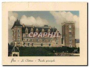 Postcard Modern Pau Le Chateau Main Facade