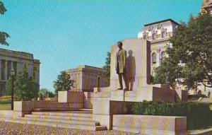 Illinois Springfield Abraham Lincoln Statue