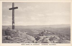 Serra Cross Mt Rubidoux Riverside California Albertype