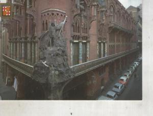 Postal 014452: Palau de la Musica Catalana de Barcelona